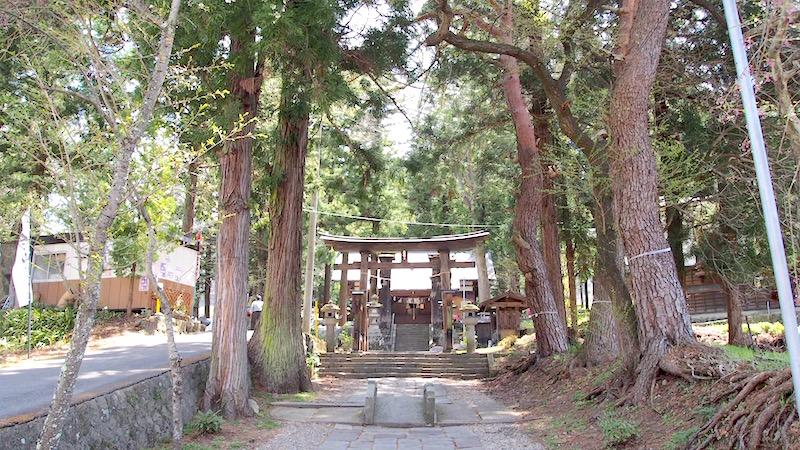 阿智村の阿智神社