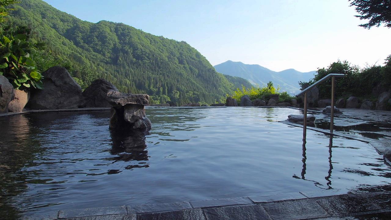 木島平の馬曲温泉