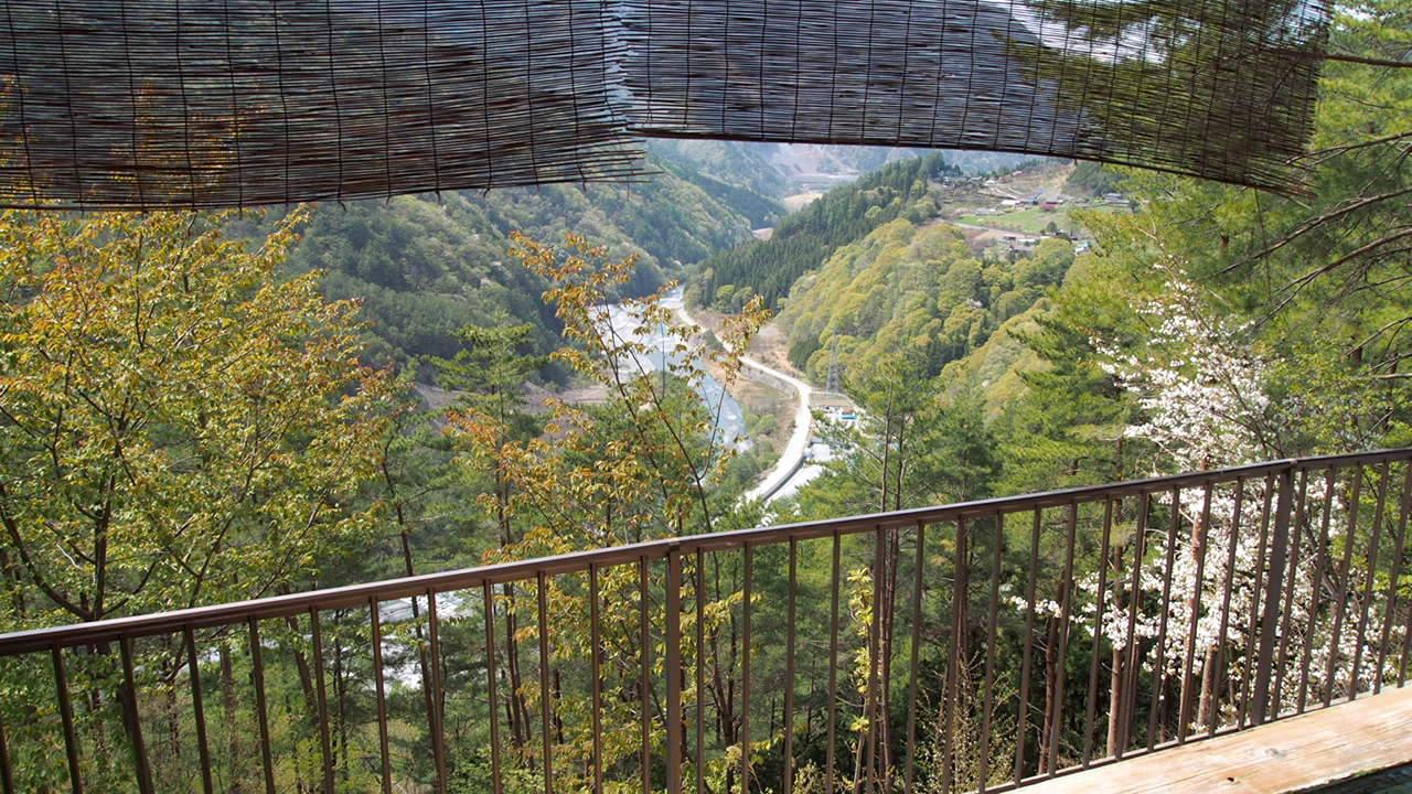 大鹿村の赤石荘