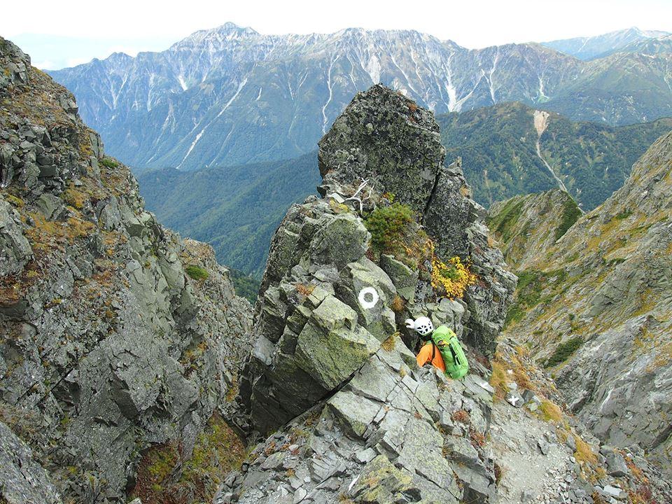 大キレット登山