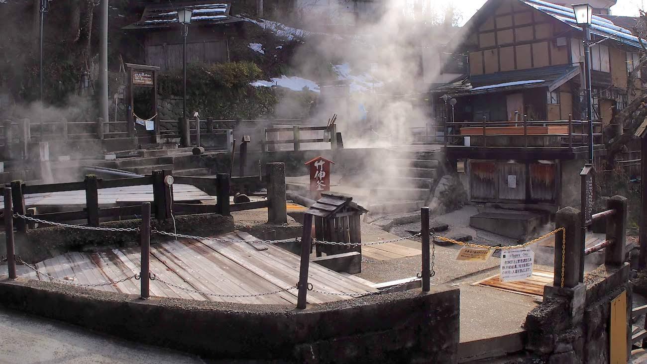 野沢温泉村の麻釜