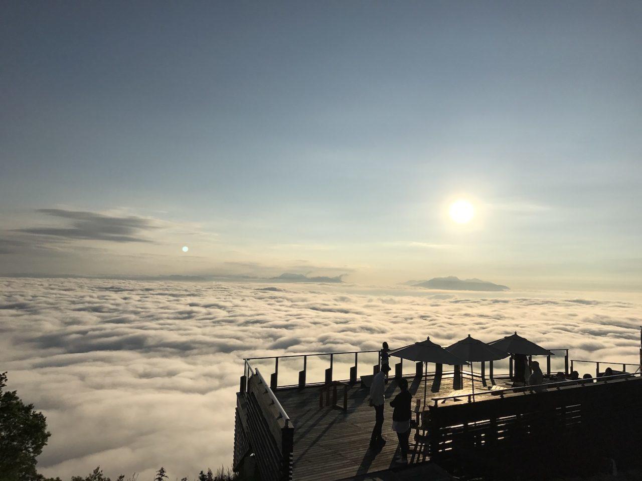 ソラテラスからの雲海
