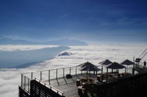ソラテラスの雲海