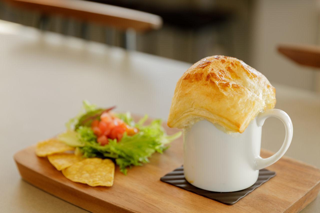 雲海パイ包みスープ