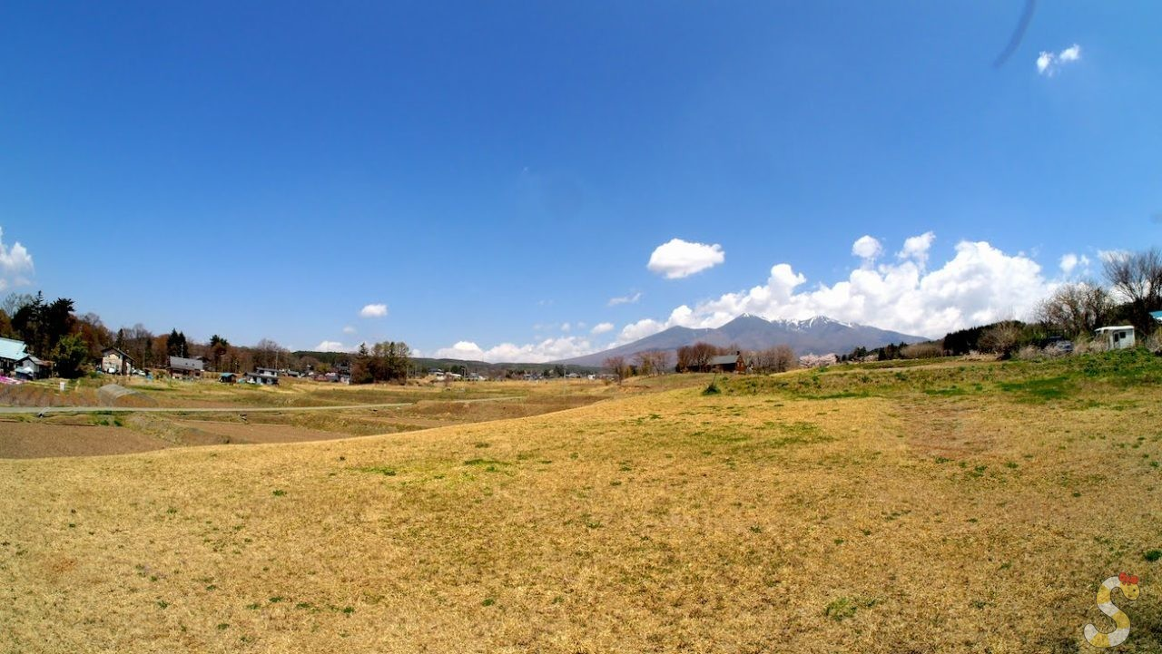 富士見町の風景