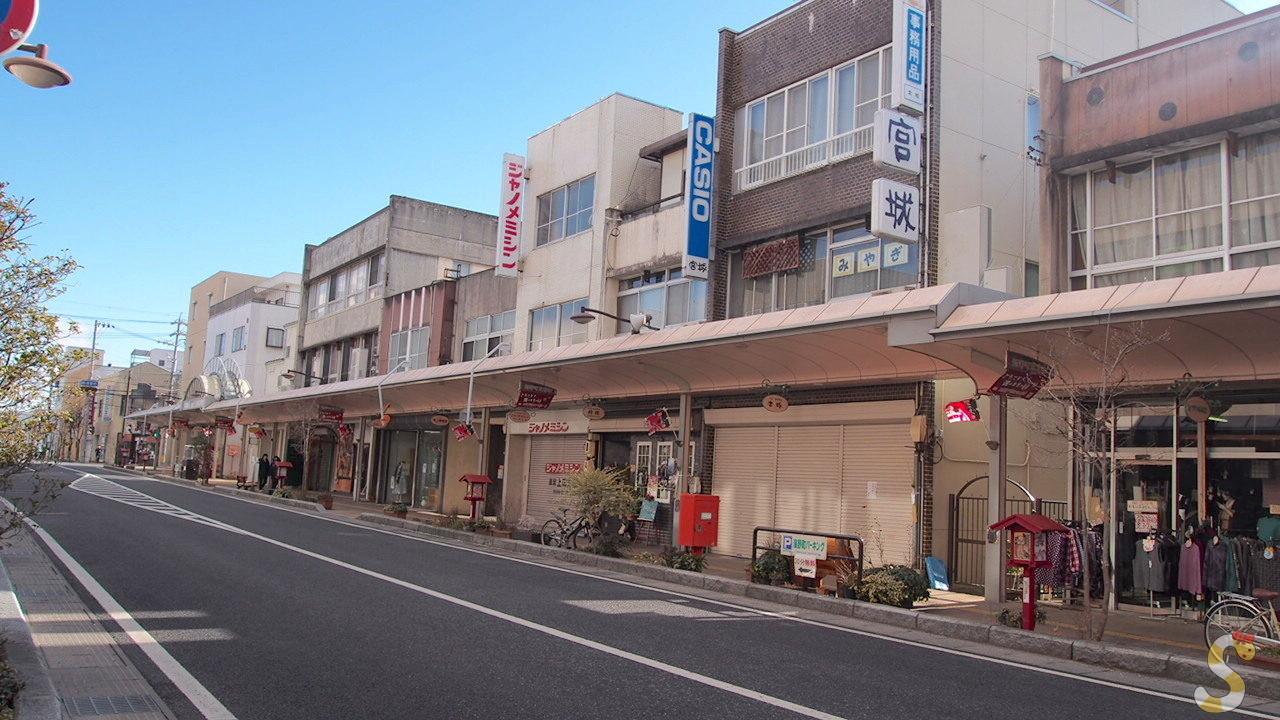 サマーウォーズ 海野町商店街