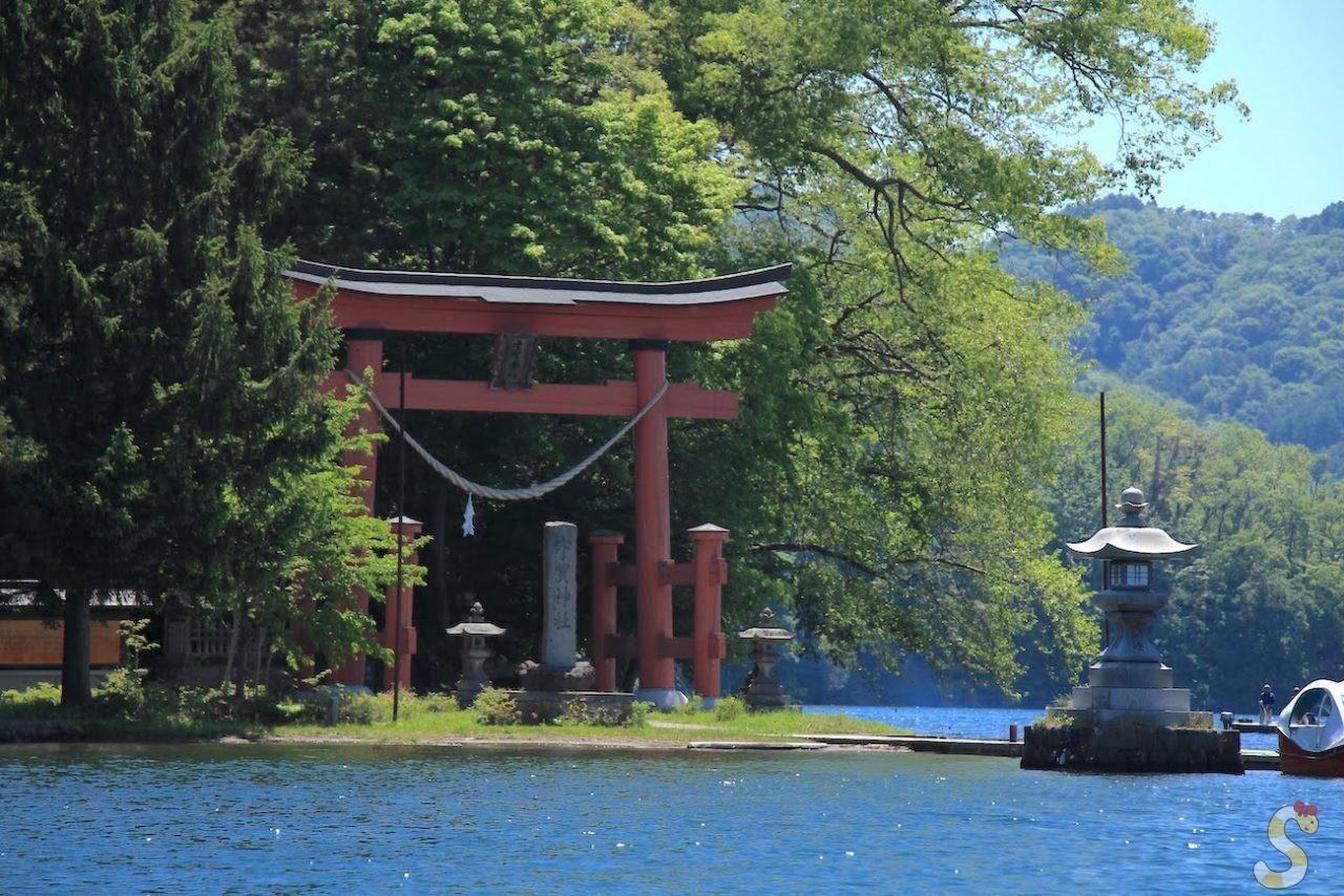 信濃町の野尻湖
