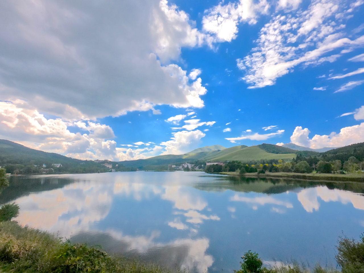 立科町白樺湖