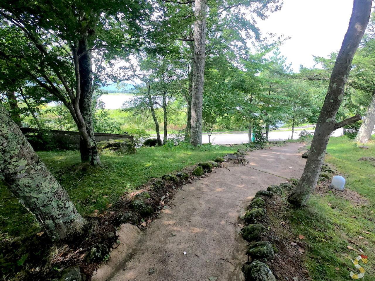 立科町女神湖