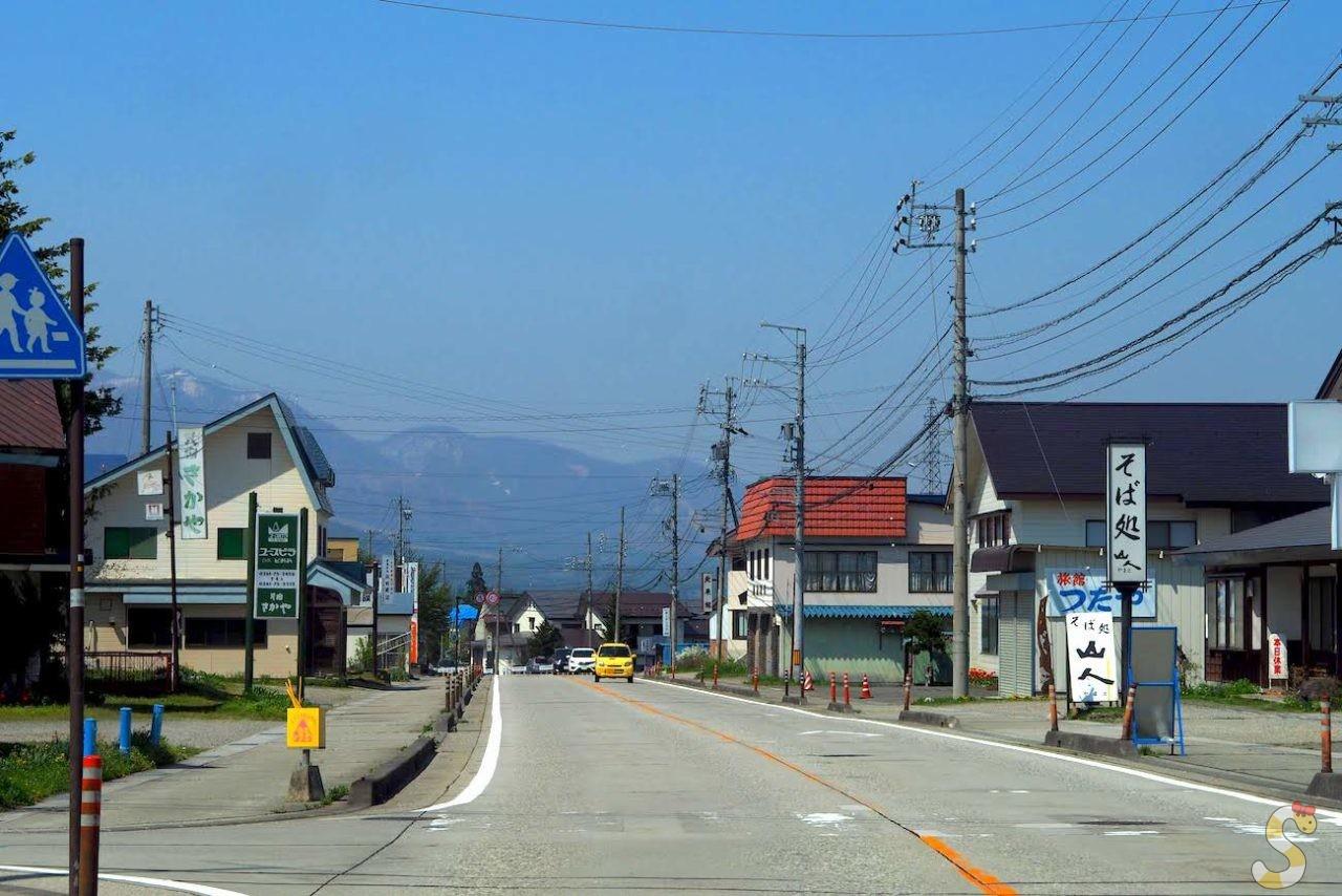 千国街道 飯田宿