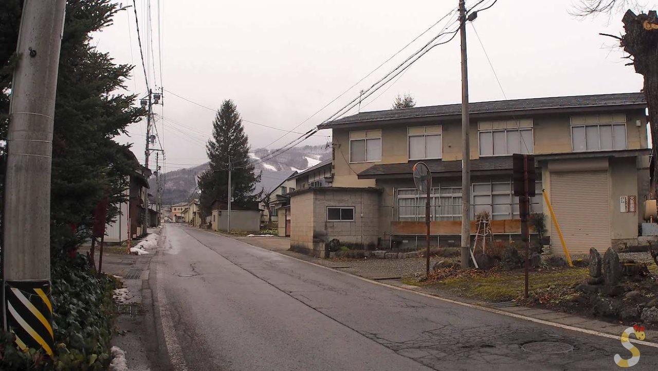 千国街道 塩島宿