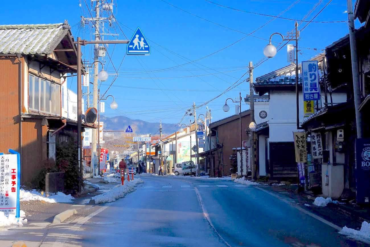 中山道塩名田宿(佐久市浅科村)