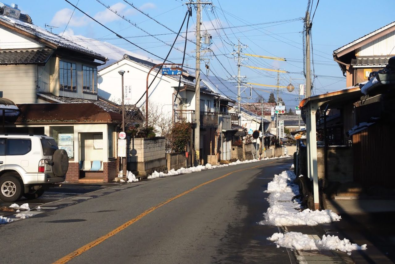 中山道八幡宿(佐久市)