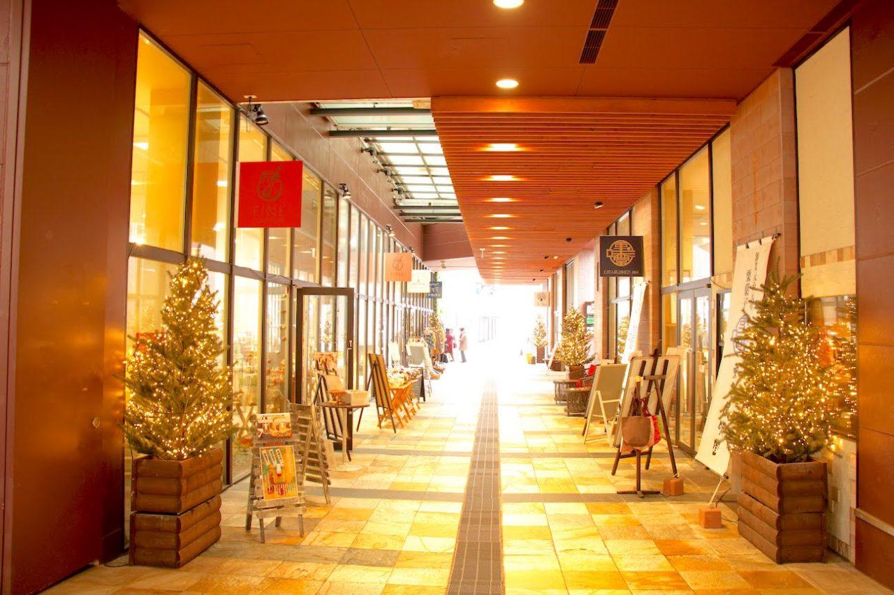 軽井沢のチャーチストリート