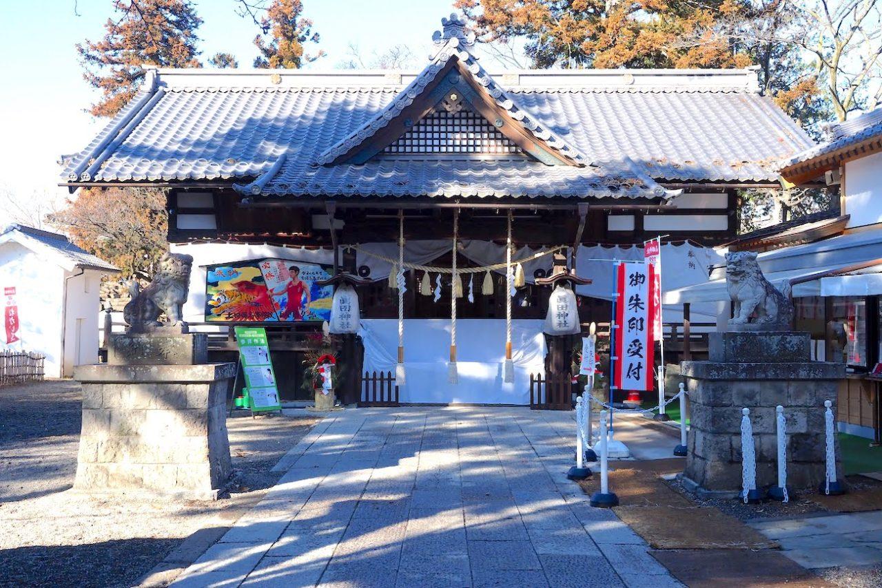 上田城跡公園の眞田神社