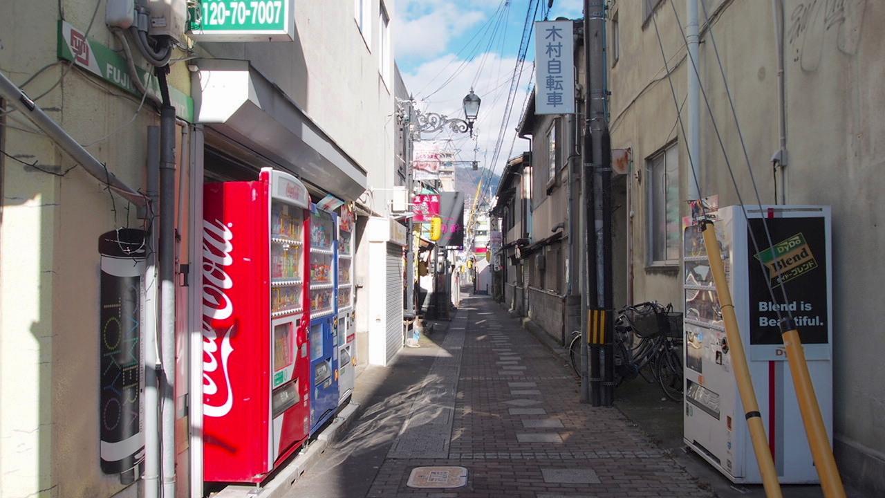 上田市海野町商店街
