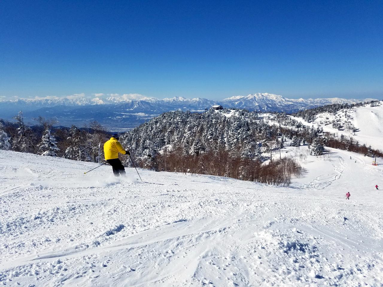 山ノ内町の志賀高原スキー場