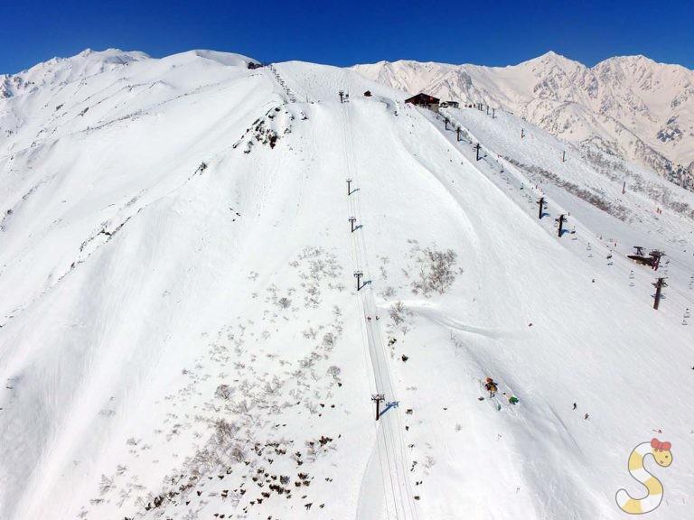 白馬八方尾根スキー場|白馬村