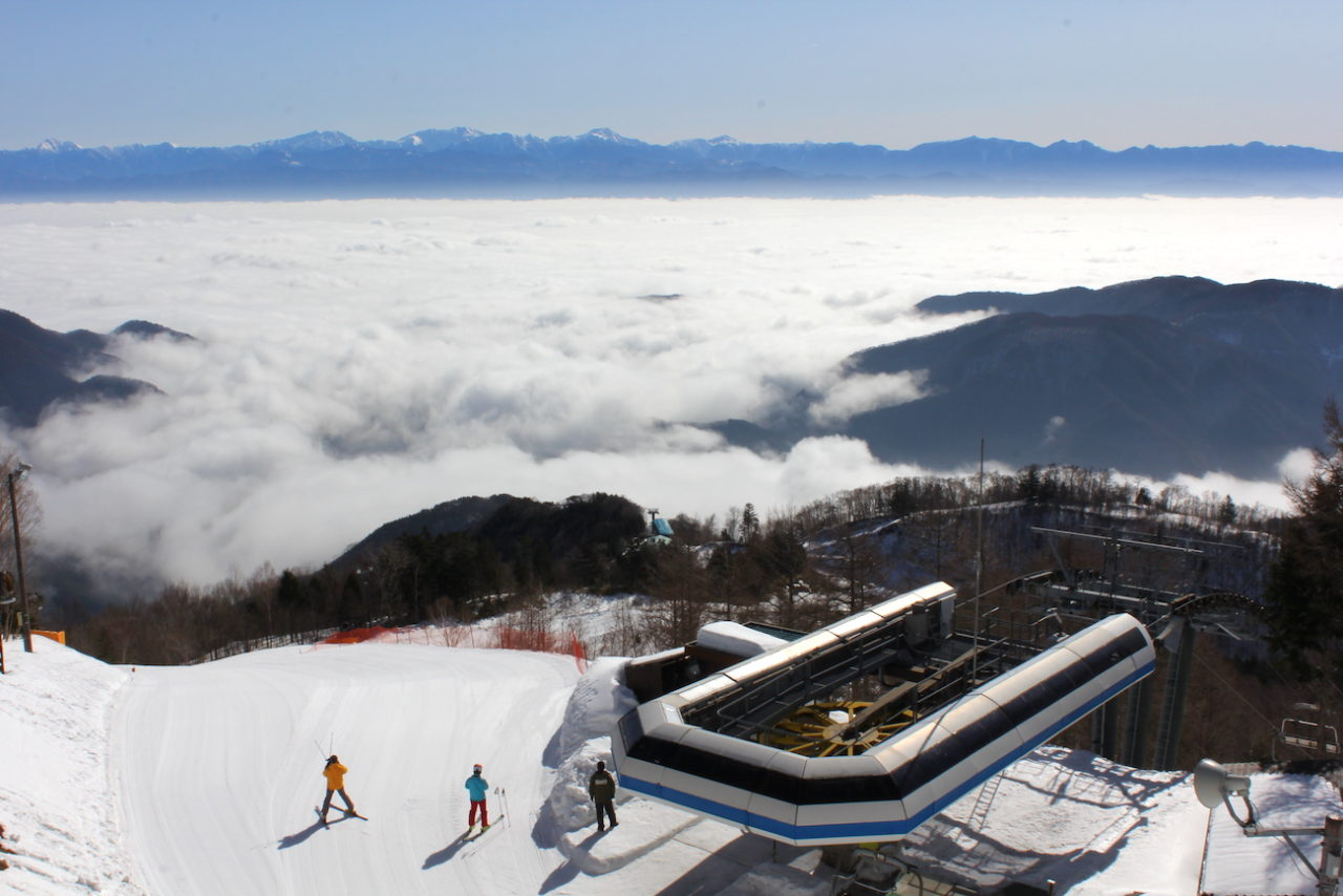 阿智村ヘブンスそのはらスキー場