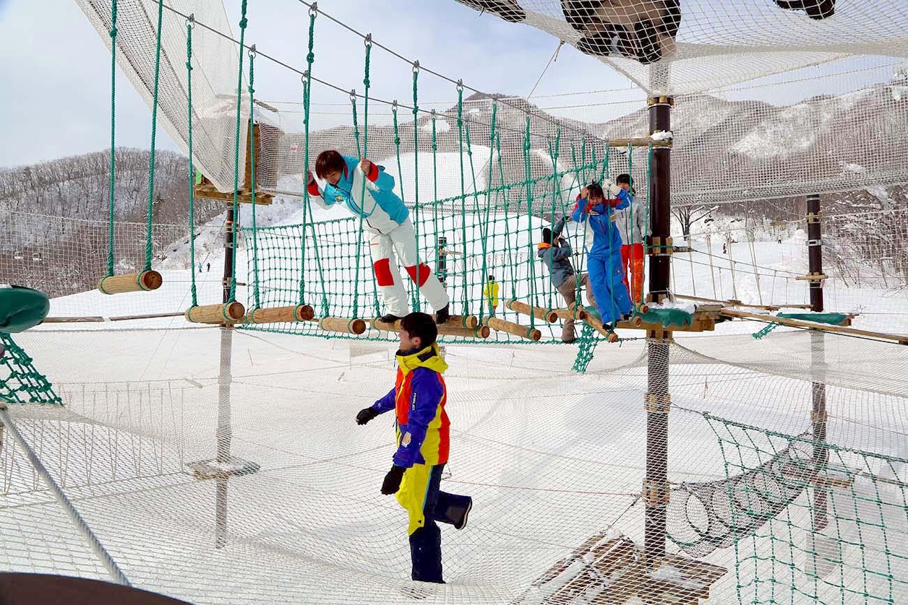 白馬栂池高原スキー場(小谷村)
