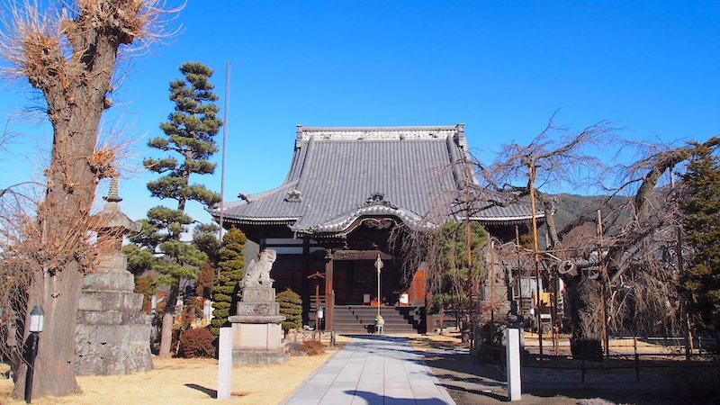 松本市の兎川寺