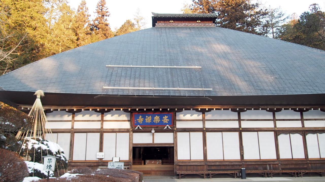 上田市別所温泉安楽寺