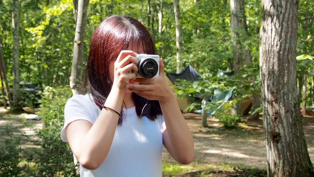旅行カメラ「Canon EOS KissM」