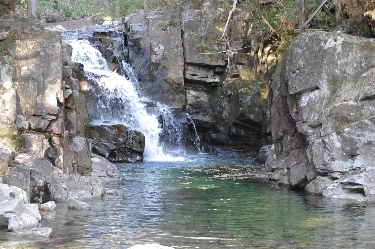 南木曽町田立の滝