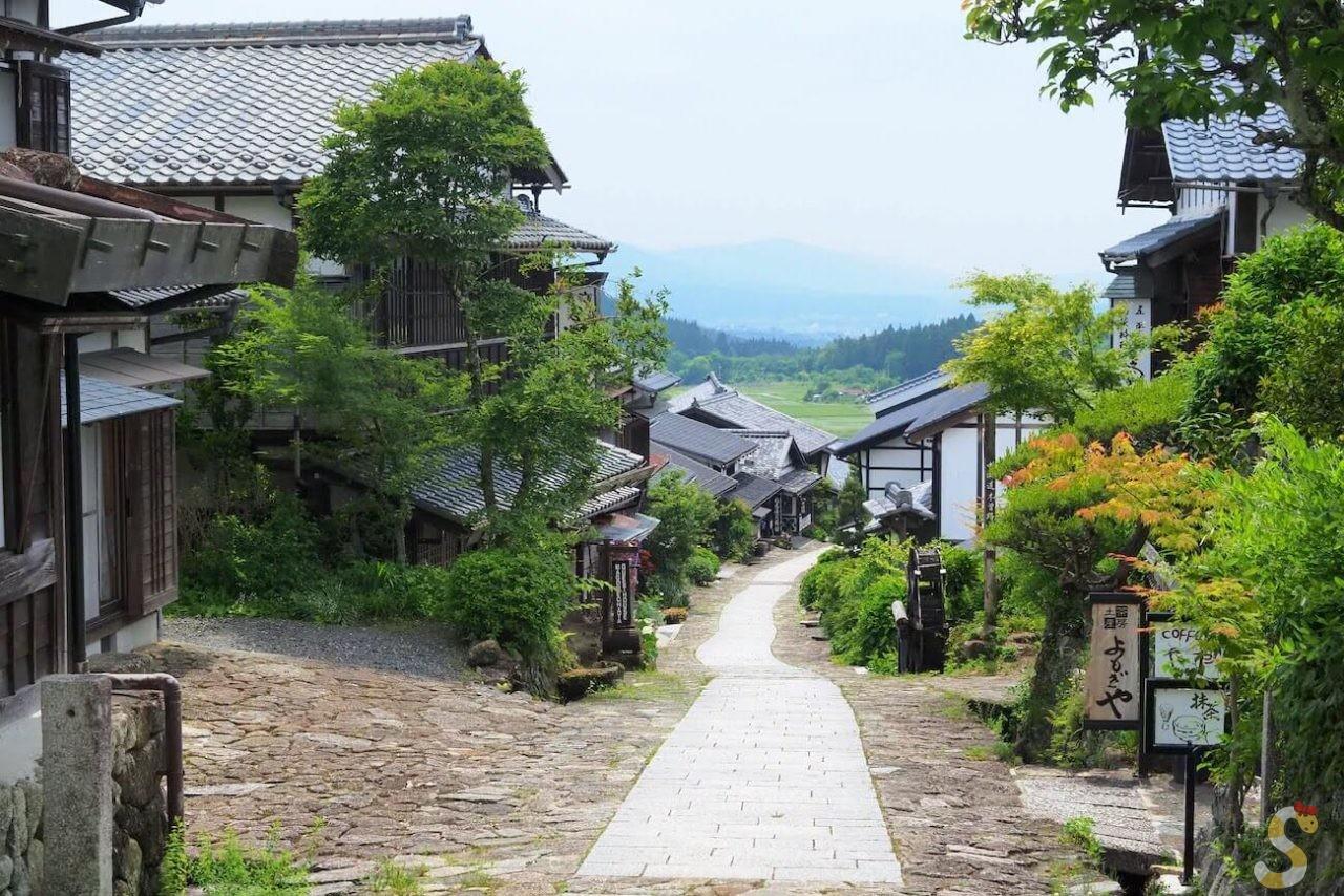 岐阜県馬籠宿(旧長野県山口村)