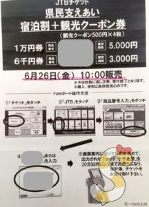長野県民クーポン券