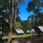 長野市大岡の聖山オートキャンプ場