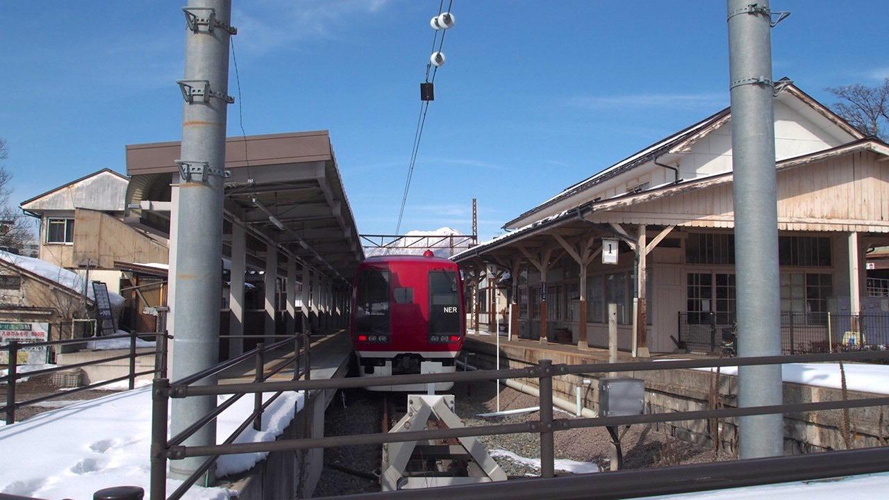 山ノ内町渋温泉湯田中駅