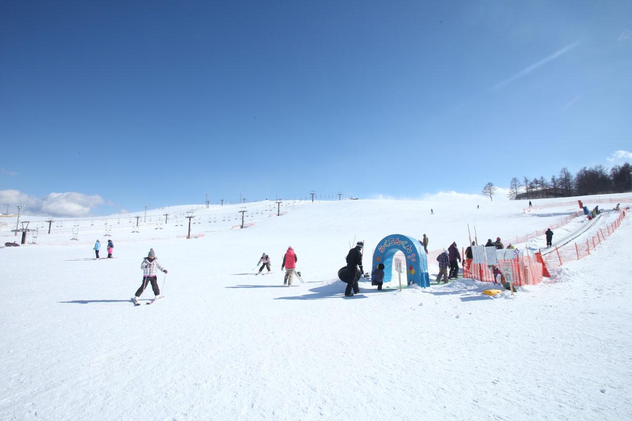霧ヶ峰スキー場諏訪市