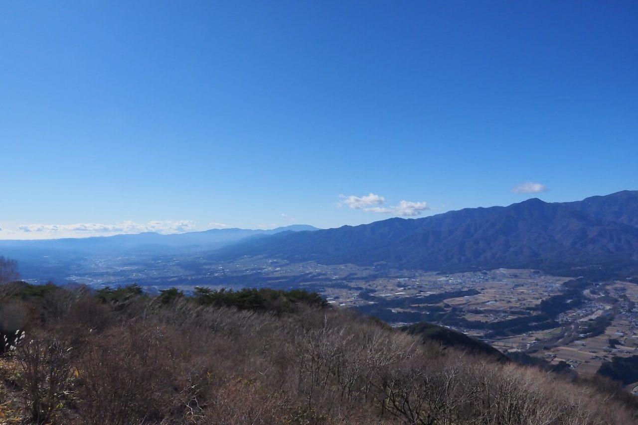 中川村陣馬型山