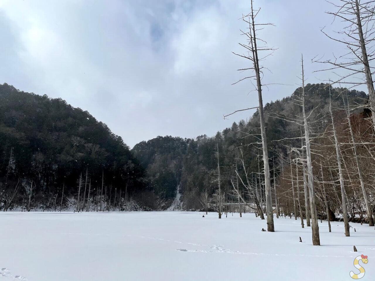 王滝村自然湖