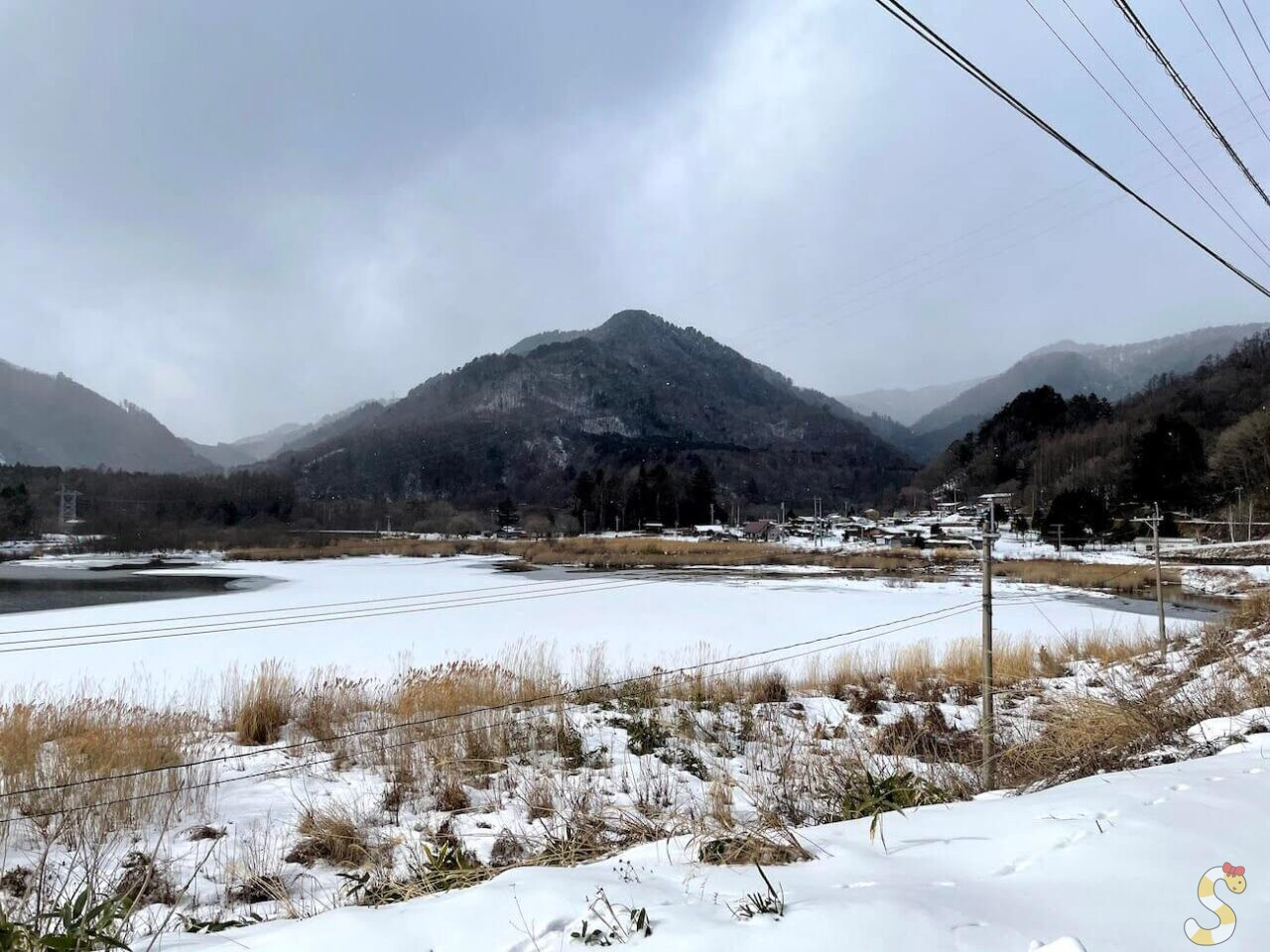 王滝村滝越集落