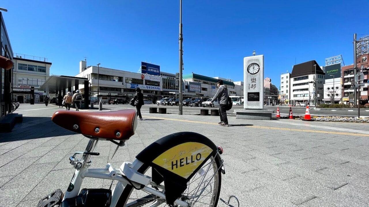 松本駅サイクリング