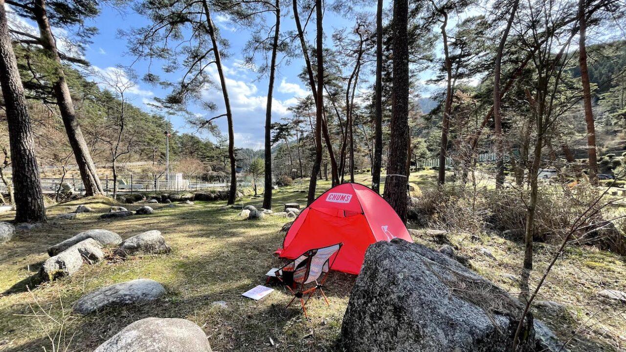 飯田市妙琴公園キャンプ場