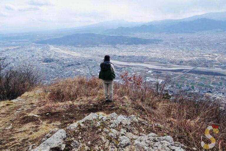 上田市太郎山・虚空蔵山登山