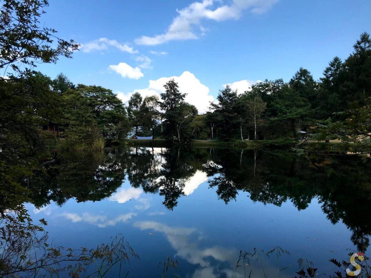 佐久穂町駒出池キャンプ場
