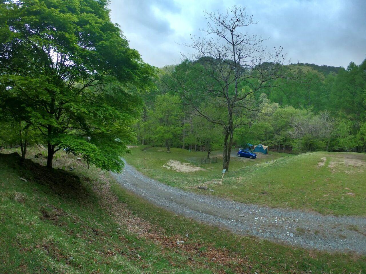 中川村四徳温泉キャンプ場