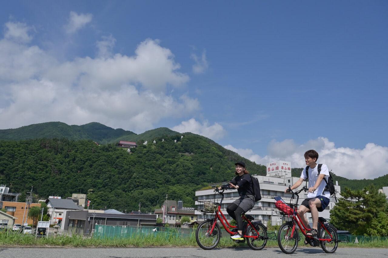 千曲市夏旅サイクリング