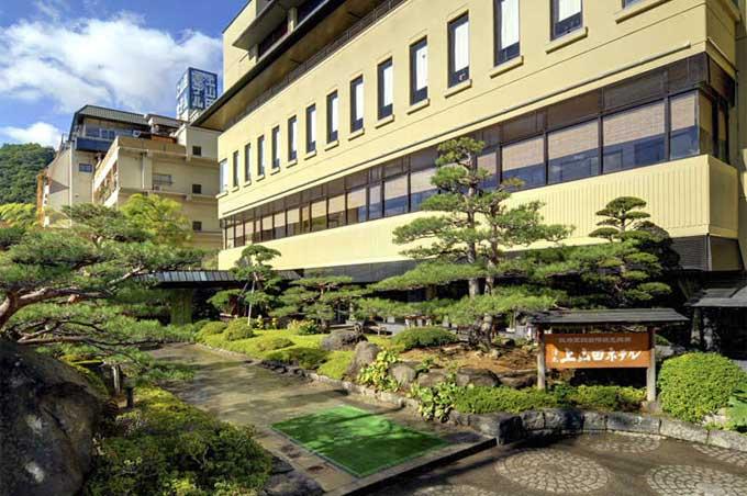 千曲市上山田ホテル