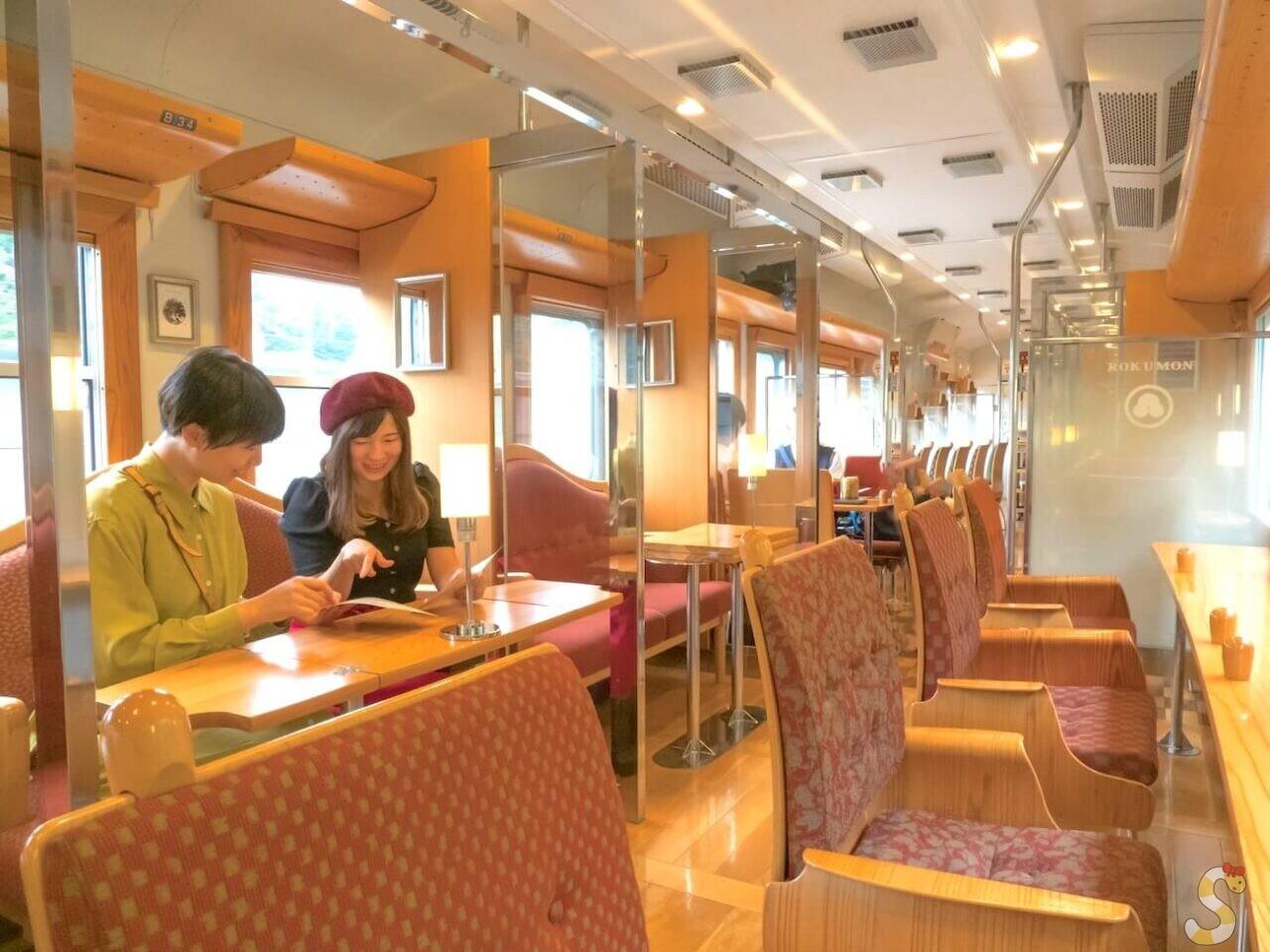 観光列車「ろくもん」女子旅 (1)