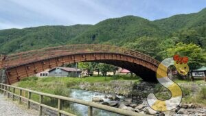 塩尻市道の駅奈良井木曽の大橋